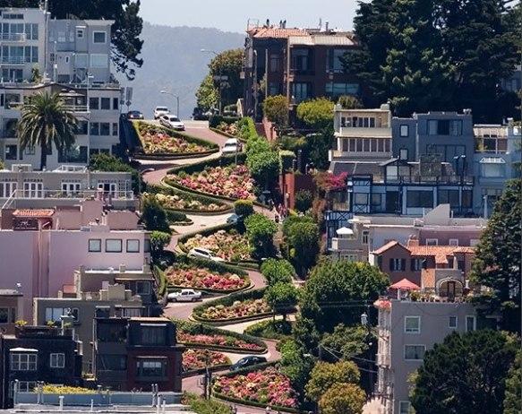 Lombard Street- San Francisco